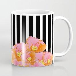Poppy Stripes - Pink Coffee Mug