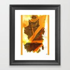 Ms Marvel Framed Art Print