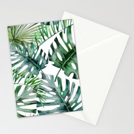Monstera Overload Stationery Cards
