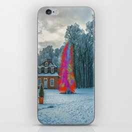 Colors in winter iPhone Skin