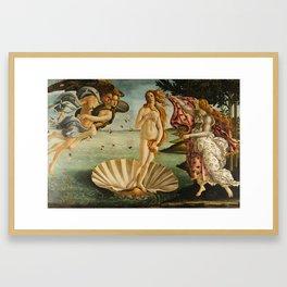 The Birth Of Venus Painting Sandro Botticelli Framed Art Print