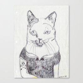 ofelia la gata original Canvas Print