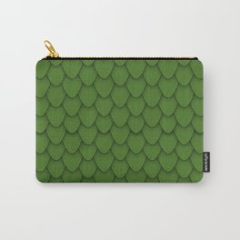 Dragon Scales in Green Carry-All Pouch