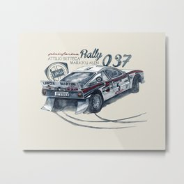 Legend of GROUP B: Lancia 037 Rally Metal Print