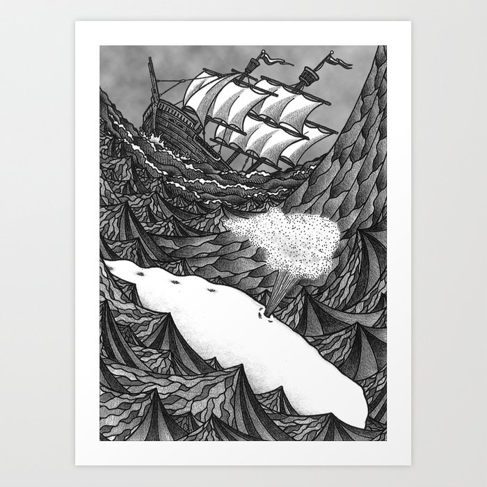 moby dick art