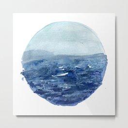 Around the Ocean Metal Print