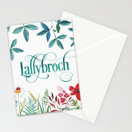 Lallybroch Stationery Cards