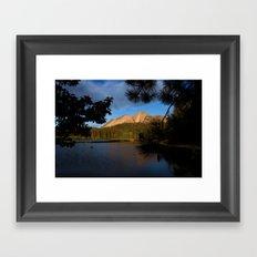 Manzanita Lake Lassen Volcanic National Park Landscape Framed Art Print