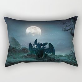 TOOTHLESS halloween Rectangular Pillow