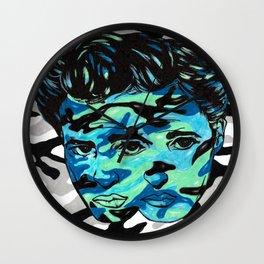 Marlon Brando: Double Vision Wall Clock
