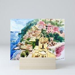 Posita Amalfi Coast, Italy Mini Art Print