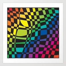 colorfull Art Print