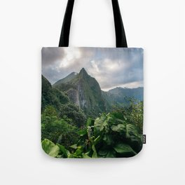 Old Pali Highway  Tote Bag