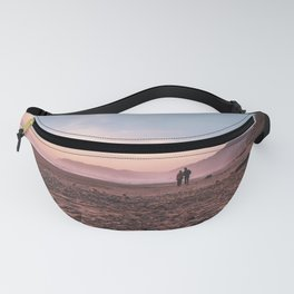 Sunset on the Beach | Oregon Coast Road Trip Photography Fanny Pack