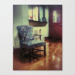 Waiting Room Series #3 Canvas Print