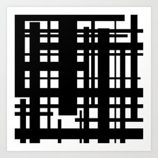 Bridges Inverse Art Print