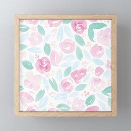 Floral Pattern #2 Framed Mini Art Print