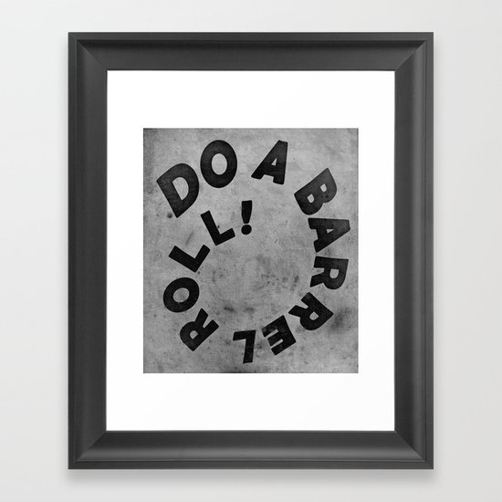 STARFOX - DO A BARREL ROLL! Framed Art Print