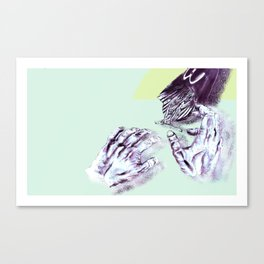 Dead Hands Canvas Print