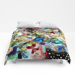 Butterfly leopard paradise Butterflies Comforters