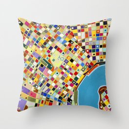 The French Quarter Throw Pillow