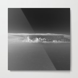Clouds | Black and White Landscape Photography  Metal Print
