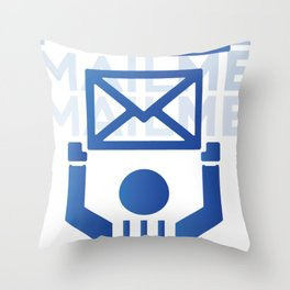 MailMe  Throw Pillow