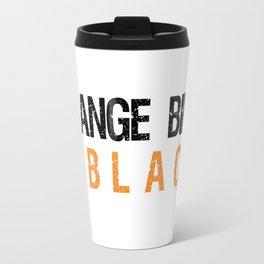 Orange Bird is the new Black Travel Mug