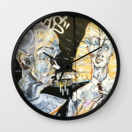 Grumpy Old Men Wall Clock