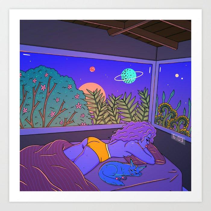 Good Morning Art Print By Robineisenberg Society6