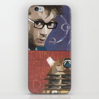 dalek iPhone & iPod Skins featuring Doctor Dalek by Topaz Arrow