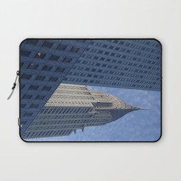 Blue Deco - Chrysler Building, New York City Laptop Sleeve