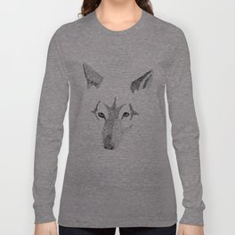 Red Wolf - Can You See How Much Is Left? Long Sleeve T-shirt