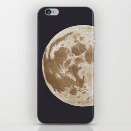 Moon Portrait 5, Linen Moon iPhone Skin