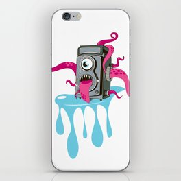 Monster Camera iPhone Skin