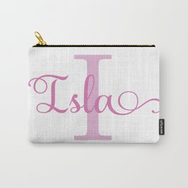 Isla - Girls Name Carry-All Pouch