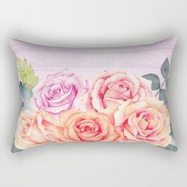 Flowers bouquet #67 Rectangular Pillow