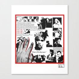 XXXTENTACION - MEMBERS ONLY VOL. 3 Canvas Print