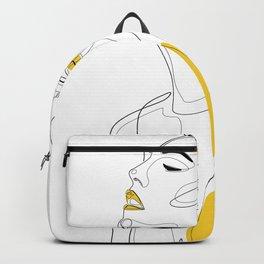 Yellow Lip Backpack