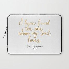 Song of Solomon 3:4 - Customer Request Laptop Sleeve