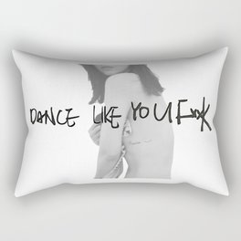 DANCE LIKE YOU FxxK Rectangular Pillow