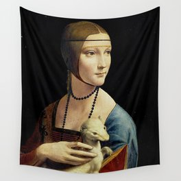 THE LADY WITH AN ERMINE - DA VINCI Wall Tapestry