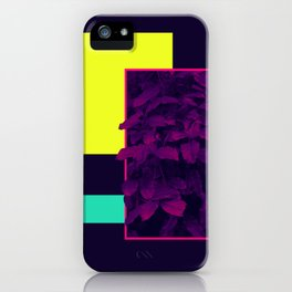 Neon Bush #society6 #retro iPhone Case