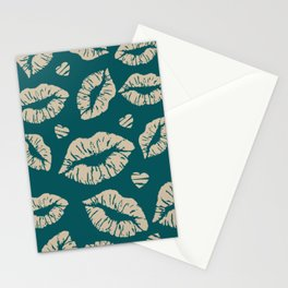 Kisses & more Kisses Stationery Cards