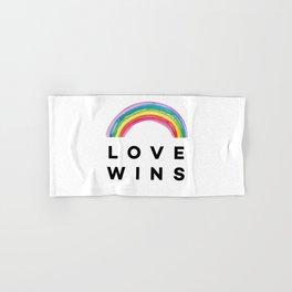 Love wins Hand & Bath Towel