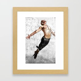 Hold Nothing Back Framed Art Print