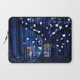 Tardis Art Of The Journey Laptop Sleeve