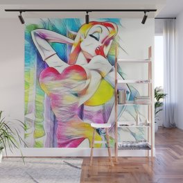 Jessica Rabbit Wall Mural