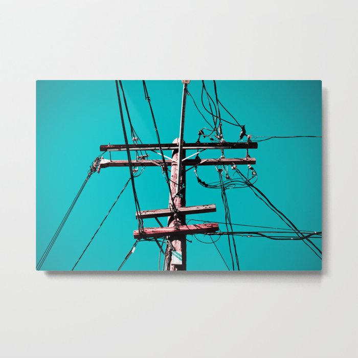 electric avenue Metal Print