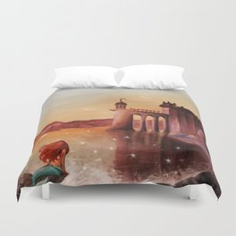 Part of Your World Duvet Cover
